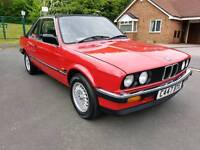 FULLY RESTORED BMW E30 BAUR CONVERTIBLE AUTO IN SHOWROOM CONDITION