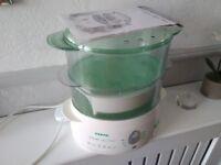 Electric veg steamer