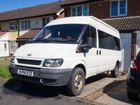 Ford Transit Minibus 350 LWB - 9 seats w/partition (see description)