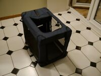 Small fabric dog kennel
