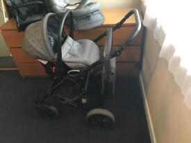 Alson full travel system pushchair