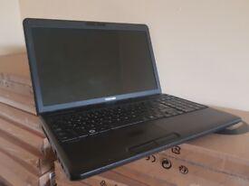 Toshiba Laptop, Intel i3 Quad , 750GB HDD, 8GB, Intel HD, DVDRW, Windows 10 Professional, Office