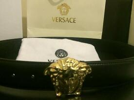 Versace belt authentic
