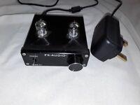 FX Audio HiFi Valve Pre-Amp - VGC, Fantastic Sound inc 2A & 2.5A Power Supplies