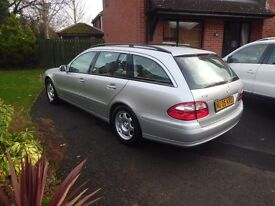 2005 Mercedes e class E220d only 54,000 miles with full service history