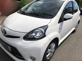 Toyota AYGO 1.0lt Manual Low mileage £0 Road Tax