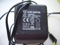 AC DC adaptor g060040D25. was used to charge motorola home phone