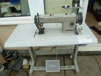 LEATHER HEAVY DUTY SEWING HIGHLEAD WALKING FOOT INDUSTRIAL MACHINE