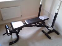 Solid bench press and stands