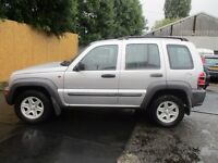 2004 04 JEEP CHEROKEE 2.5 CRD SPORT CD PLAYER AIR BAGS SERVICE HISTORY REMOTE FINANCE PX SWAPS