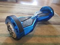 Hoverboard Blue Segway Lamborghini Edition for Sale 8 Inch with Bluetooth Speaker - Used good cond.
