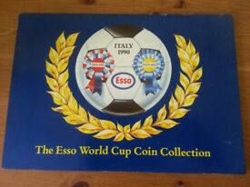 Italy 1990 Esso World Cup Coin Collection