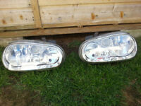 GOLF MK 4 HEADLIGHTS