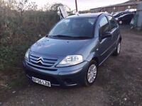 2007 CITREON C3 lovely driving 5 DOOR HATCHBACK LONG MOT BLSCK CLOTH INTERIOR CHEAP TO RUN5 SPEED