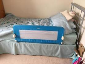 Single bed base and headboard