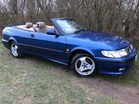 AUTOMATIC CONVERTIBLE SAAB 93 TURBO - LEATHER