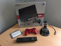 PS3 320GB Black Fully Boxed