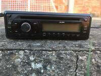 Alba car CD player with AUX