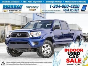 2014 Toyota Tacoma V6 *Bluetooth, Rear View Camera, AWD*