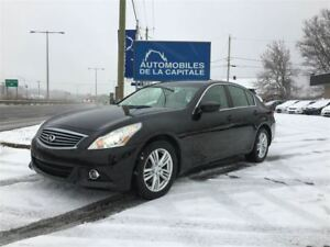 2011 Infiniti G37X Berline 4 portes Luxe, traction intégral