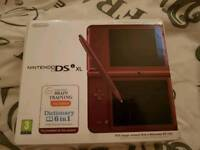 Ds Xl console woth games*