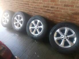 Nissan navara wheels alloys