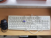 Keyboard and USB Mouse