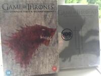 Seasons 1-3 Game of Thrones