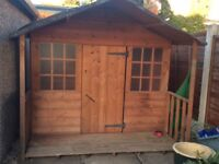 Kids outdoor wooden Wendy/playhouse