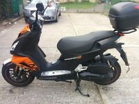 2014 Peugot Speedfight 3 Darkside Edition 125CC Moped - 3K Miles