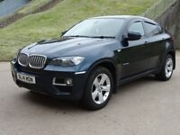 BMW X6 3.0 XDRIVE40D 4d AUTO 302 BHP FULL SERVICE RECORD + LEATHER TRIM 1 PREVIOUS KEEPER +