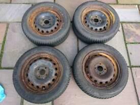 "Renault Clio 14"" Winter Wheels & Tyres"