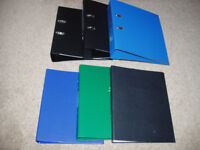 lever Arch and Ring Binder files