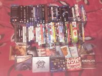 Collection of DVDs/CDs/Games for sale
