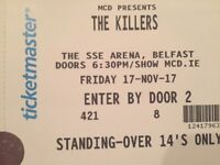 Killers Tickets - Friday 17th Nov