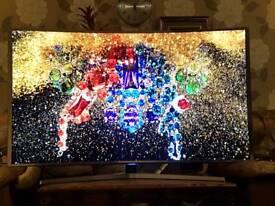 "55"" SAMSUNG CURVE 3D 4K SUPER ULTRA HD SMART WIFI LED TV"