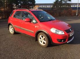 2006 Suzuki SX4 1.6, Petrol, 5 Door red