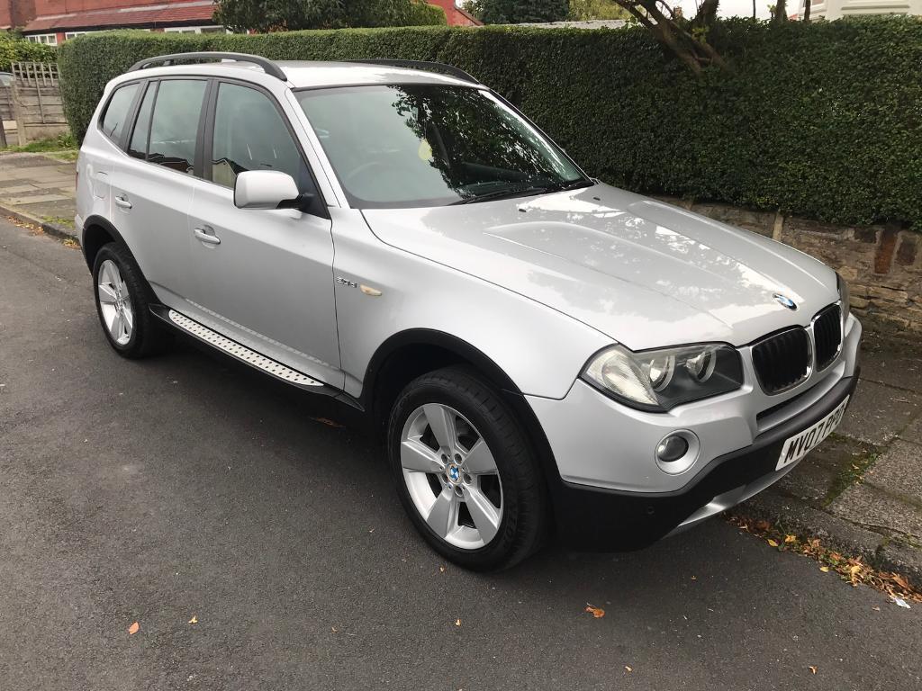 2007 BMW X3 4x4 2.0 diesel manual full leather 1 owner 3 keys