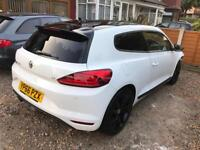 2016 66 VOLKSWAGEN SCIROCCO 1.4 GT TSI BLACK EDITION,DAMAGED/SALVAGE/REPAIRABLE, LOW MILES ONLY 11K