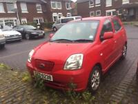 2005 KIA PICANTO 1.0 MOTD TO MARCH £30 TAX LOW INSURANCE CHEAP TRADE IN!