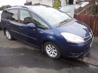 2007 CITROEN C4 GRAND PICASSO 1,6 HDI VTR + 7 SEATER AUTOMATIC
