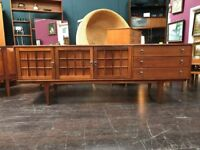 Mid Century Sideboard by A. Younger Ltd of Glasgow. Retro Vintage Mid Century