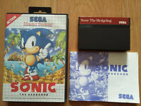SEGA Master System game, Sonic the Hedgehog