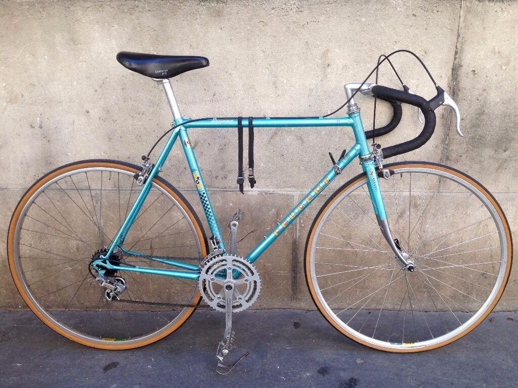 1982 Peugeot PFN10 Classic Road Bike Size 54 10 Gears Made In France Vintage City Racing Bicycle