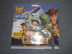 Toy Story Poster Art Set. Brand New, never opened.