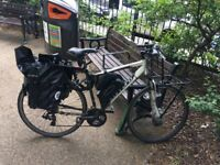 Converted Carrera cross fire 1 electric bicycle