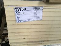 Kingspan insulation TW50. 1200 X 450 X 50mm. 12 sheets per pack