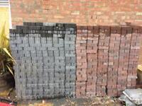 Block paving brick weave