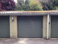 Secure garage in quiet residential area close to Tunbridge Wells town centre and railway station.