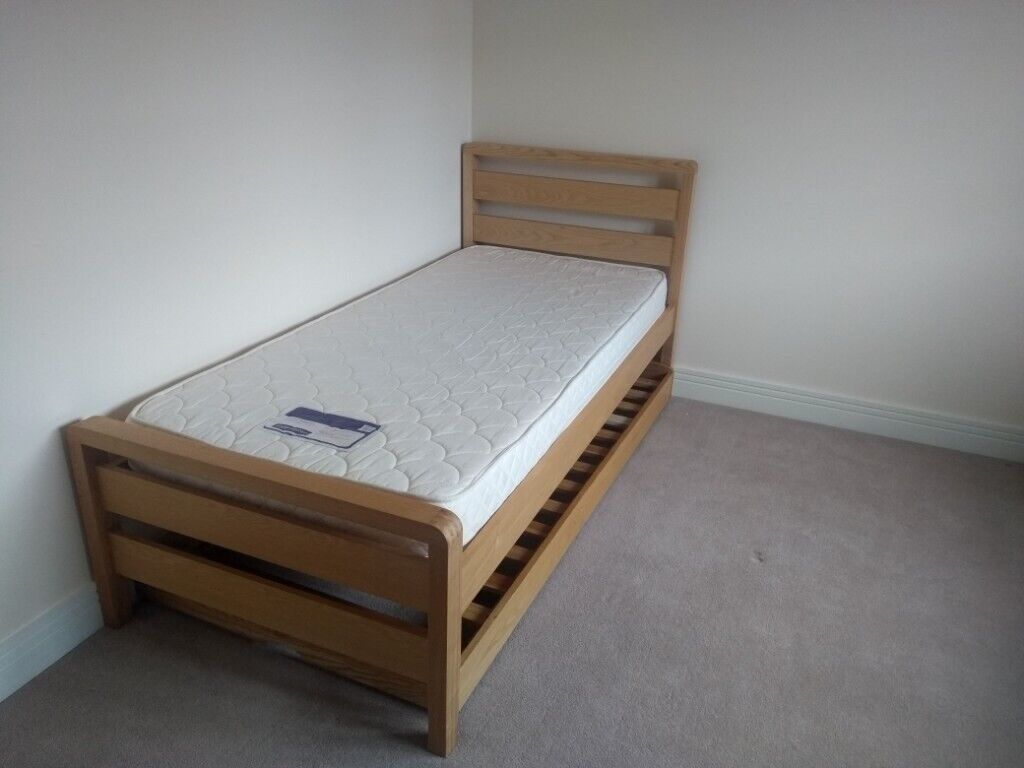 Single Bed With Trundle Hip Hop 3 In 1 Ash Bed Frame From Bensons For Beds In North Berwick East Lothian Gumtree